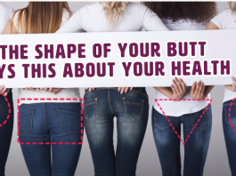 shapes of butts